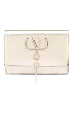 Женская сумка valentino garavani vcase small VALENTINO золотого цвета, арт. SW2B0E61/JEQ | Фото 1