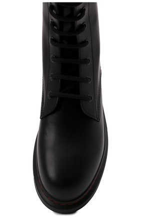 Кожаные ботинки | Фото №5