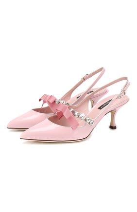 Кожаные туфли Lori | Фото №1