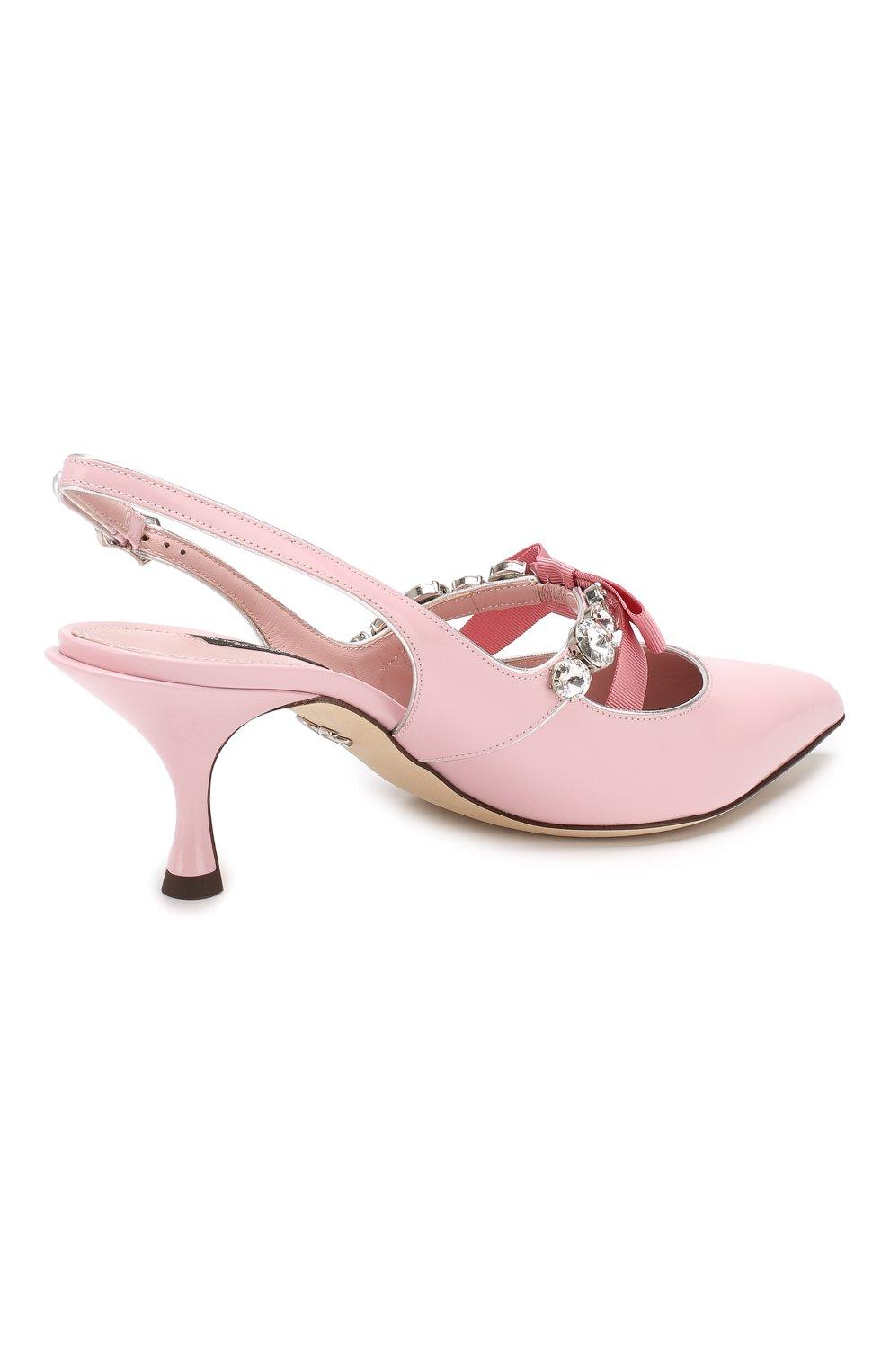 Кожаные туфли Lori | Фото №4
