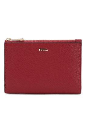 Женские кожаный футляр для паспорта linda FURLA красного цвета, арт. PZ20/HSF | Фото 1