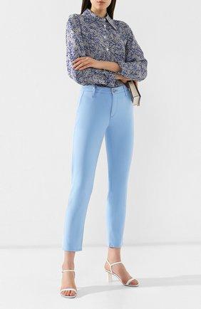 Женские брюки AG голубого цвета, арт. SBW1613/TPAR | Фото 2