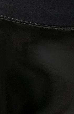 Женские спортивные шорты HEROINE SPORT черного цвета, арт. HS-6-010   Фото 5 (Длина Ж (юбки, платья, шорты): Мини, Миди; Кросс-КТ: Спорт; Материал внешний: Синтетический материал; Женское Кросс-КТ: Шорты-спорт; Стили: Спорт; Статус проверки: Проверена категория)