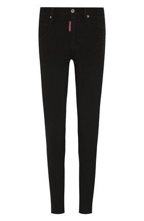 Женские джинсы DSQUARED2 черного цвета, арт. S75LB0207/S44531 | Фото 1