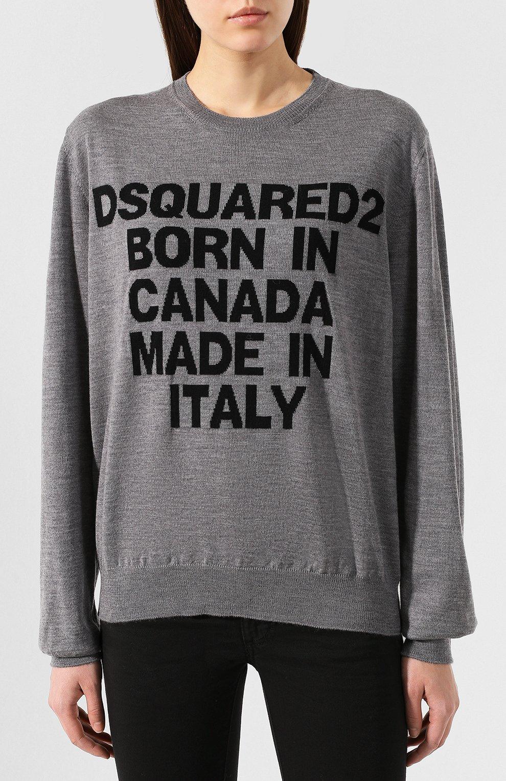 Шерстяной пуловер   Фото №3