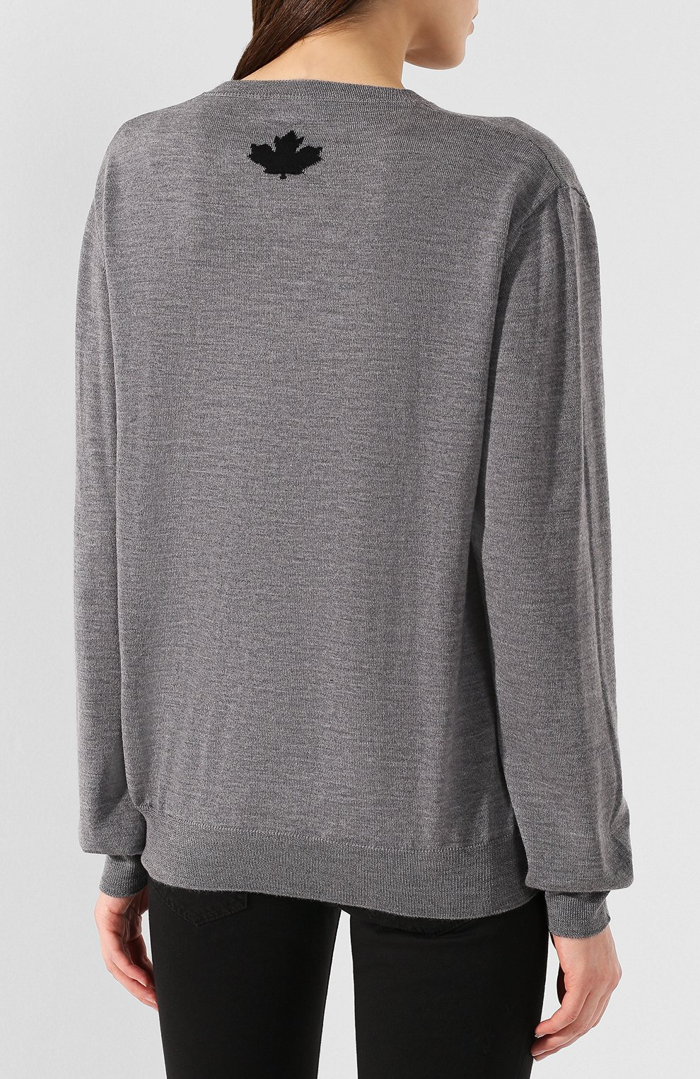 Шерстяной пуловер   Фото №4