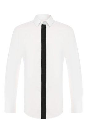 Мужская хлопковая сорочка DOLCE & GABBANA белого цвета, арт. G5GL8T/FU5K9 | Фото 1