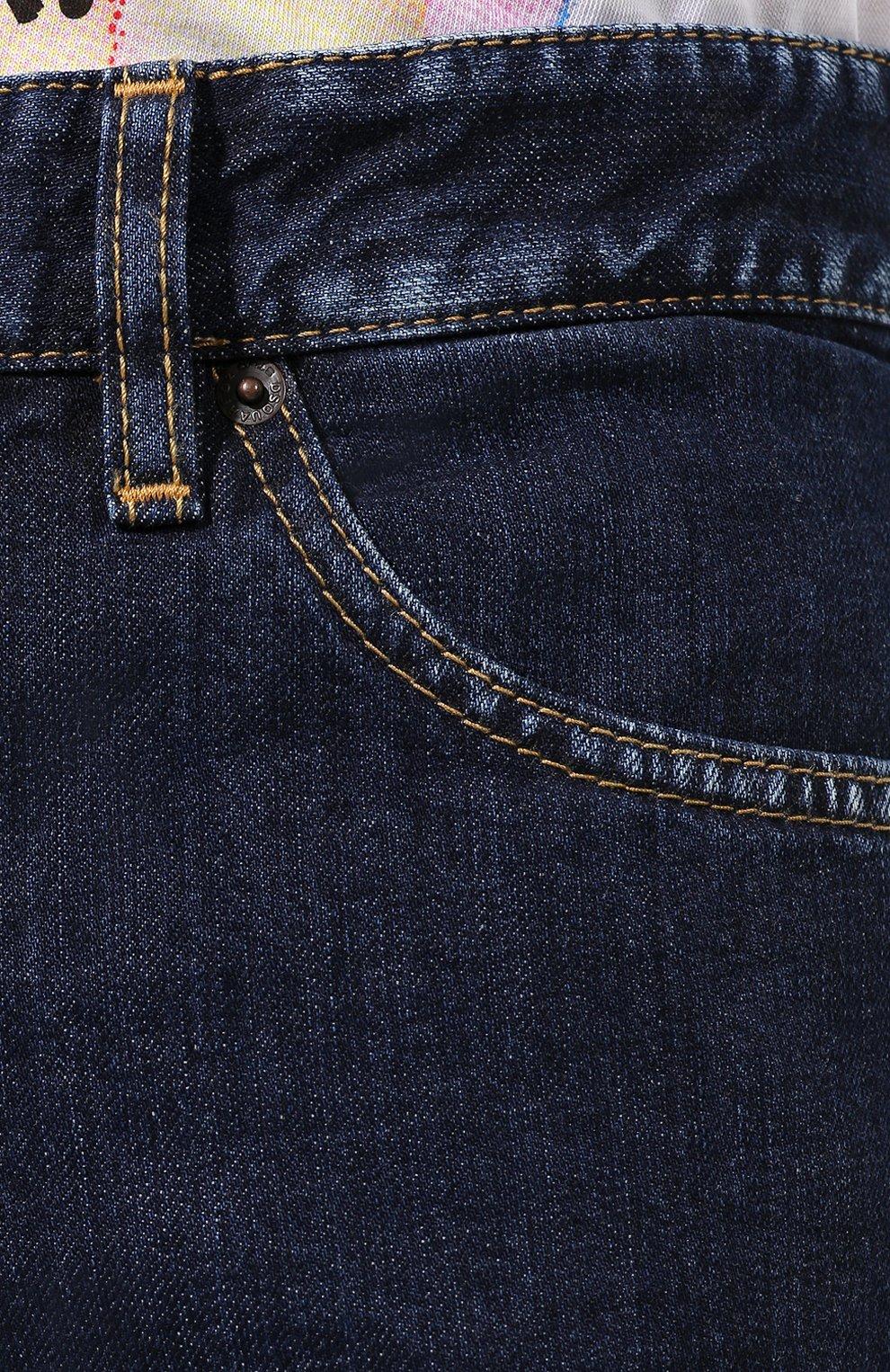Джинсы Dsquared2 темно-синие | Фото №5