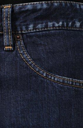 Джинсы Dsquared2 синие | Фото №5