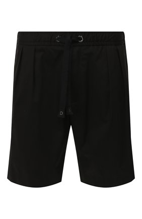 Мужские хлопковые шорты DOLCE & GABBANA черного цвета, арт. GYXAHZ/FUFIS | Фото 1