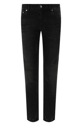 Джинсы Dolce & Gabbana черные | Фото №1