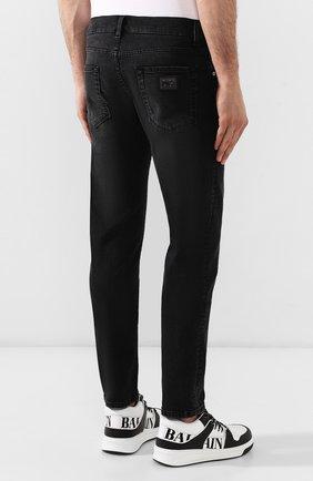Джинсы Dolce & Gabbana черные | Фото №4