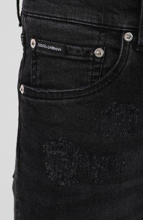 Джинсы Dolce & Gabbana черные | Фото №5