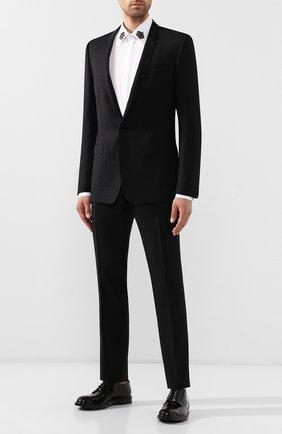 Мужской шерстяной костюм DOLCE & GABBANA черного цвета, арт. GK0QMT/FJ2BM | Фото 1