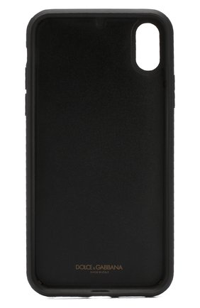 Мужской чехол для iphone xr DOLCE & GABBANA черного цвета, арт. BP2516/AZ602 | Фото 2