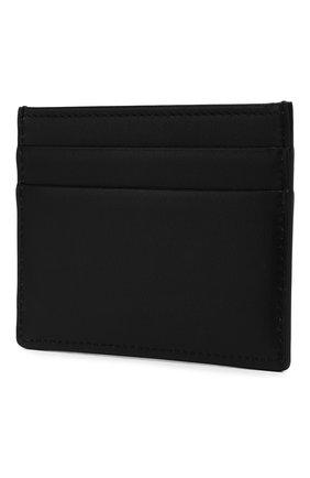 Мужской кожаный футляр для кредитных карт DOLCE & GABBANA черного цвета, арт. BP0330/AA062 | Фото 2