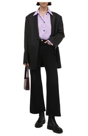 Женские кожаные ботинки GIANVITO ROSSI черного цвета, арт. G73884.20CU0.CE0NENE | Фото 2