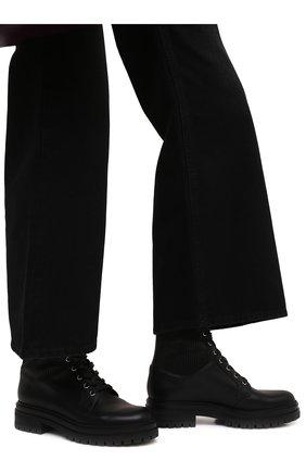 Женские кожаные ботинки GIANVITO ROSSI черного цвета, арт. G73884.20CU0.CE0NENE | Фото 3