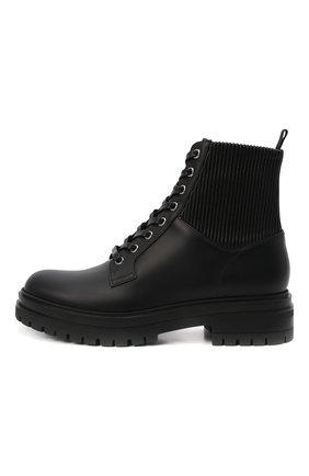 Женские кожаные ботинки GIANVITO ROSSI черного цвета, арт. G73884.20CU0.CE0NENE | Фото 4
