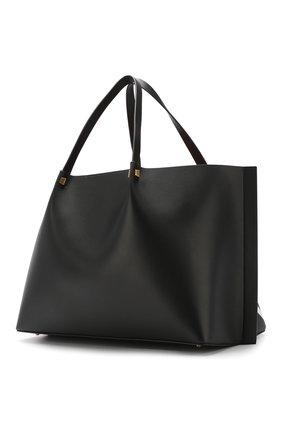 Сумка-тоут Valentino Garavani Go Logo Escape large Valentino черная цвета | Фото №3