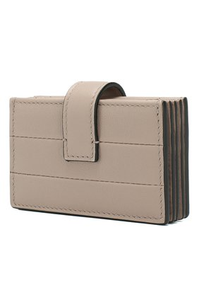Женский кожаный футляр для кредитных карт valentino garavani VALENTINO бежевого цвета, арт. SW2P0S38/XWQ | Фото 2