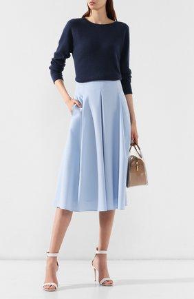 Женский кашемировый пуловер WINDSOR темно-синего цвета, арт. 52 DP203 10000805 | Фото 2