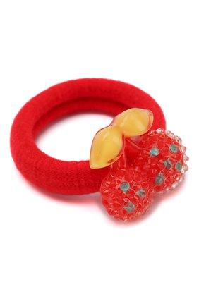 Детская комплект из двух резинок cherry JUNEFEE красного цвета, арт. 4602 | Фото 2