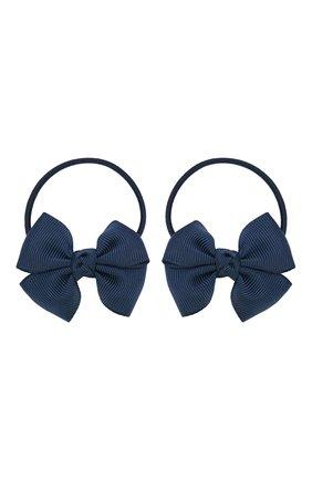 Детская комплект из двух резинок simple go JUNEFEE темно-синего цвета, арт. 5931   Фото 1