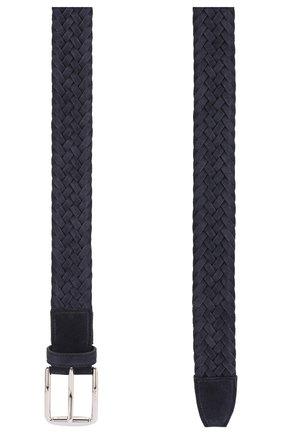 Мужской замшевый ремень TOD'S темно-синего цвета, арт. XCMCPR23100HMK | Фото 2