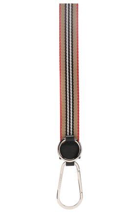 Мужской брелок BURBERRY бежевого цвета, арт. 8010417 | Фото 2