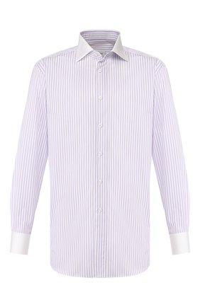 Мужская хлопковая сорочка BRIONI сиреневого цвета, арт. RCLU2M/0804V | Фото 1