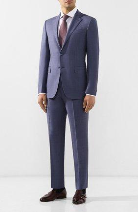 Мужская хлопковая сорочка BRIONI сиреневого цвета, арт. RCLU2M/0804V | Фото 2