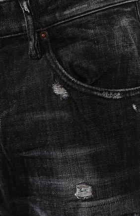 Джинсы Dsquared2 черные | Фото №5