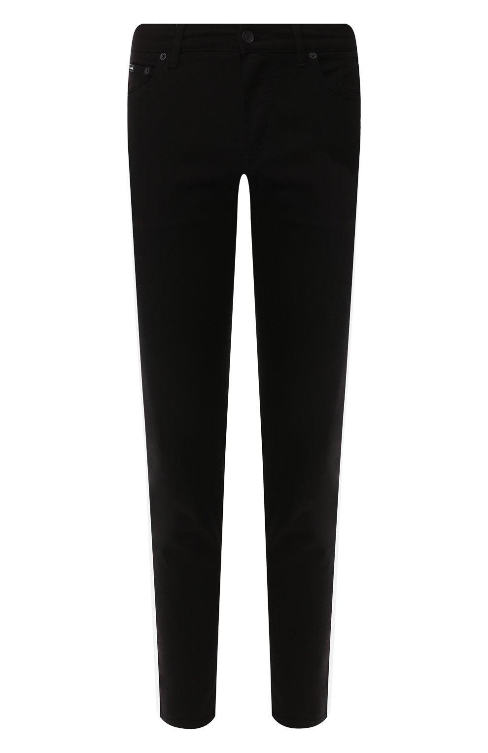 Мужские джинсы DOLCE & GABBANA черного цвета, арт. GYXNLZ/G8BK5 | Фото 1