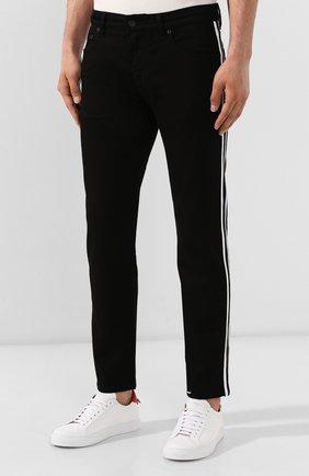 Мужские джинсы DOLCE & GABBANA черного цвета, арт. GYXNLZ/G8BK5 | Фото 3