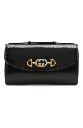 Женская сумка gucci zumi small GUCCI черного цвета, арт. 572375/LJM0X/PBIV | Фото 1