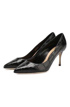 Кожаные туфли Godiva | Фото №1