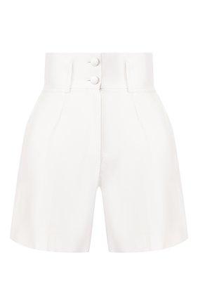 Женские шелковые шорты DOLCE & GABBANA белого цвета, арт. FTBKYT/FU1L5 | Фото 1