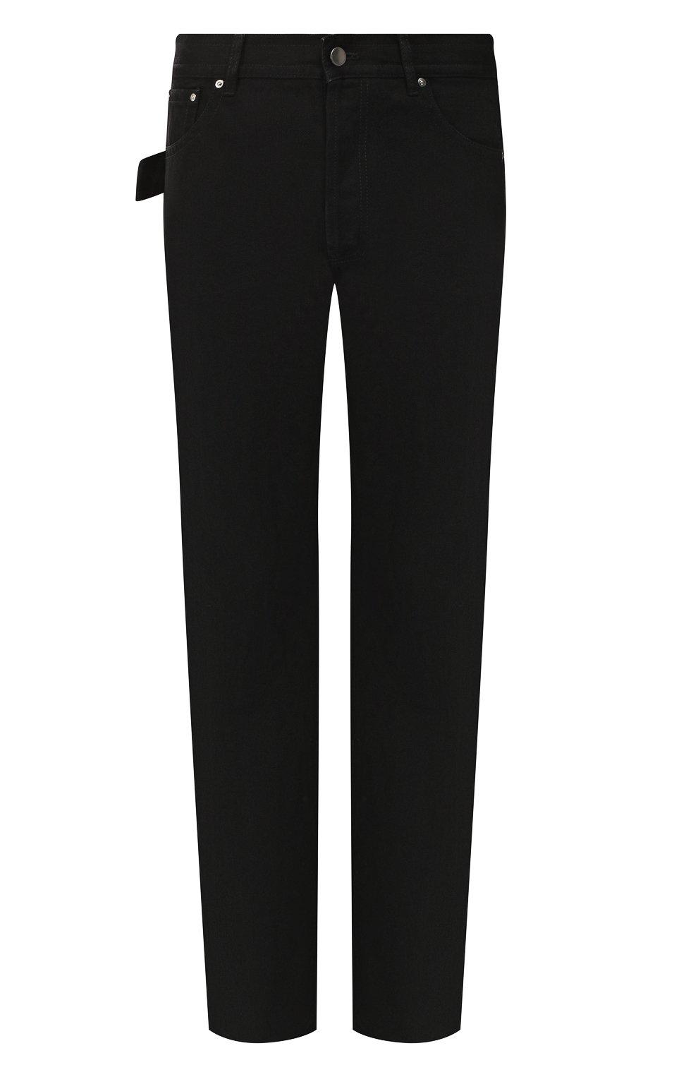 Мужские джинсы BOTTEGA VENETA черного цвета, арт. 566888/VKBD0   Фото 1