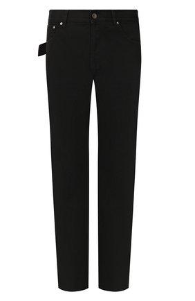 Мужские джинсы BOTTEGA VENETA черного цвета, арт. 566888/VKBD0 | Фото 1