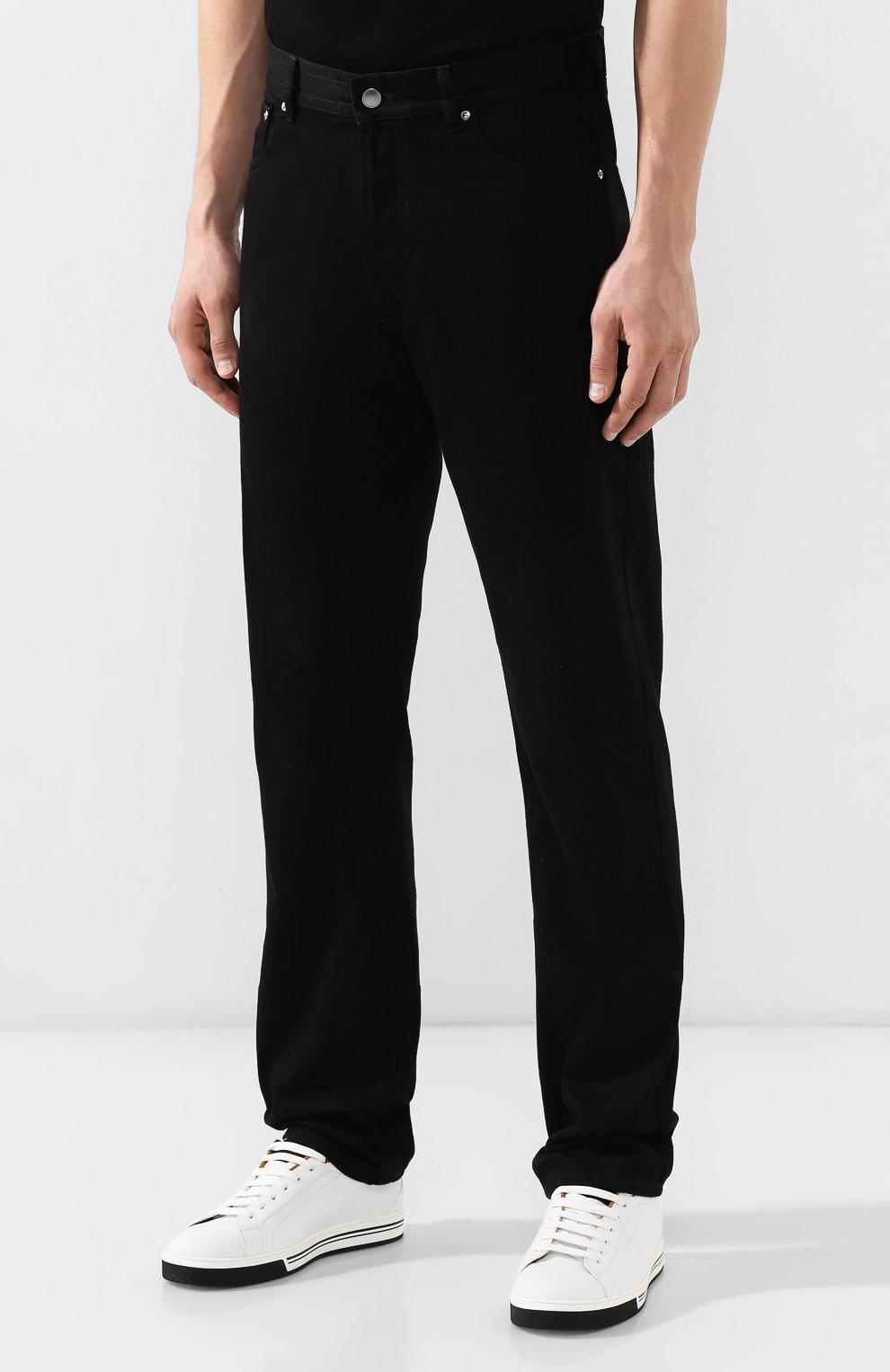 Мужские джинсы BOTTEGA VENETA черного цвета, арт. 566888/VKBD0   Фото 3