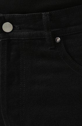 Мужские джинсы BOTTEGA VENETA черного цвета, арт. 566888/VKBD0   Фото 5