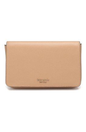 Кожаный кошелек Sylvia на цепочке | Фото №1