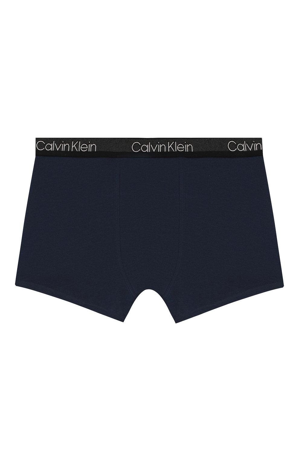 Детские комплект из двух пар трусов CALVIN KLEIN синего цвета, арт. B70B700198   Фото 3