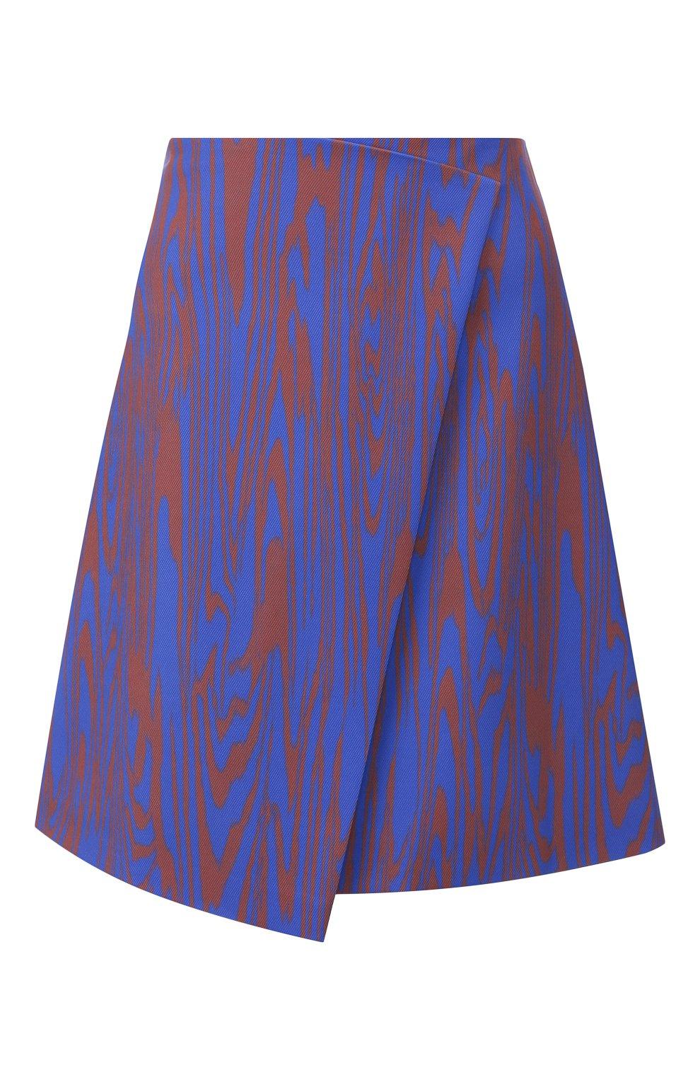 Женская юбка BOSS голубого цвета, арт. 50411284 | Фото 1