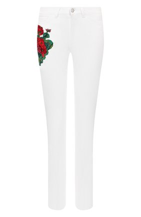 Женские джинсы DOLCE & GABBANA белого цвета, арт. FTAQ5Z/G8980 | Фото 1