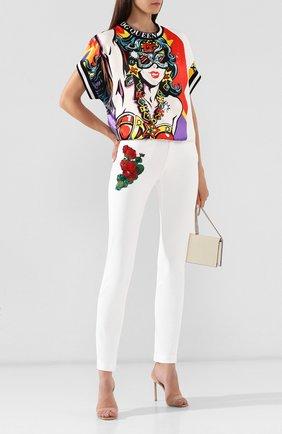 Женские джинсы DOLCE & GABBANA белого цвета, арт. FTAQ5Z/G8980 | Фото 2
