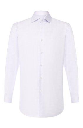 Мужская хлопковая сорочка BRIONI сиреневого цвета, арт. RCL80S/0806P | Фото 1