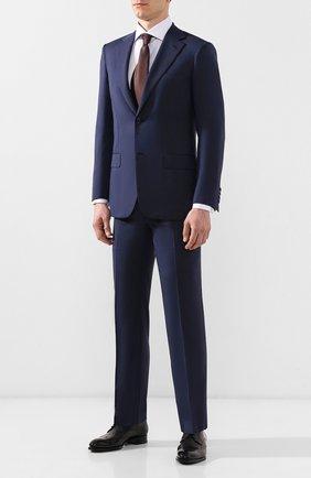 Мужская хлопковая сорочка BRIONI сиреневого цвета, арт. RCL80S/0806P | Фото 2