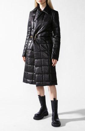 Кожаное пальто | Фото №1
